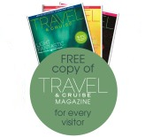 Free copy of Cruise & Travel Magazine for every visitor