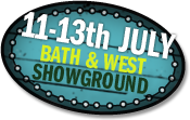 11-13th July Bath & West Showground